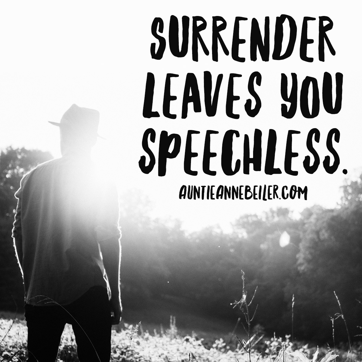 Surrender Leaves You Speechless