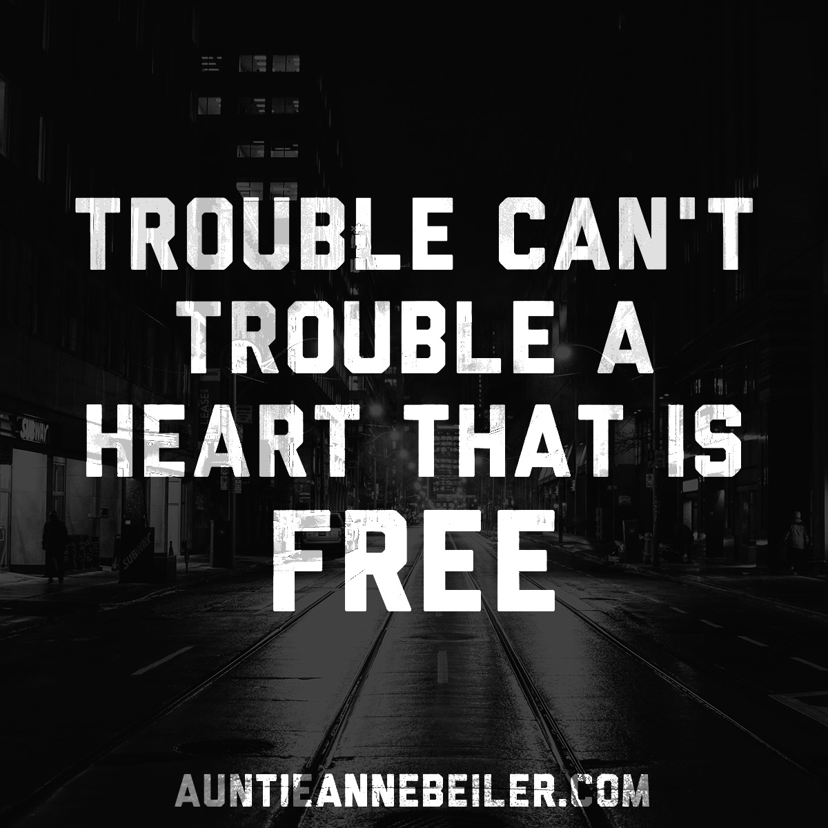 A Trouble Free Heart